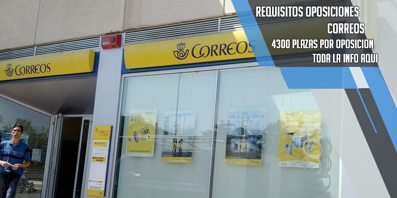 requisitos oposiciones a Correos